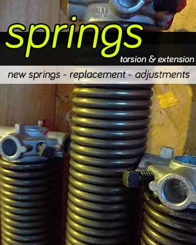 Garage door springs | AMPM Ottawa Garage Door Repair™