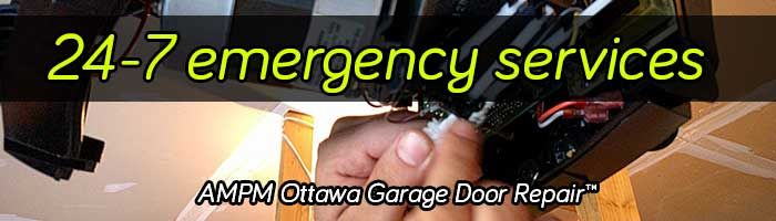 24 hour emergency garage door repair services