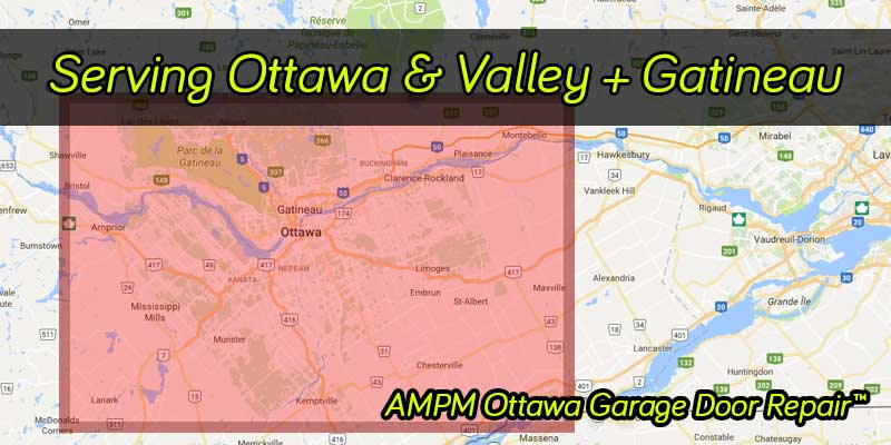 Ottawa Ontario & Valley map