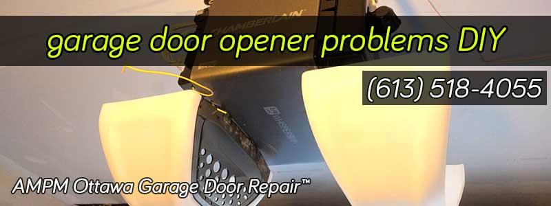 A chamberlain garage door opener