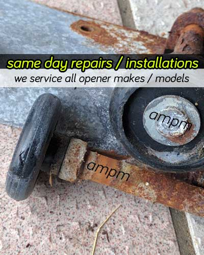 Garage door rollers replacement | Ottawa ON