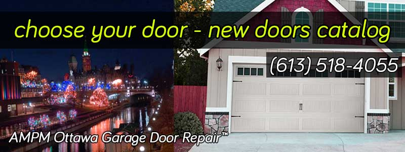 New Residential Garage Doors
